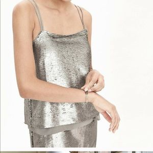 Banana Republic sequin dress ❤️Christmas  &  NYE